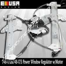 Front Left +Right Power Window Regulator for 06-08 Chevy Impala SS LT Z 748-172