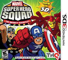 Nintendo 3DS --- MARVEL Super Hero INFINITY GAUNTLET --new--- NDS ryl