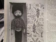 4pg Lenci Doll Magazine Article NOVELTY DOLLS / Judd's