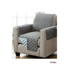 Reversible Seat Cover Sofaschoner Sesselschutz Sofa Throw Armrests And Bags
