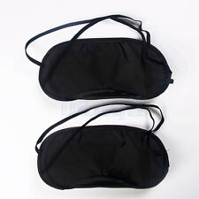2pcs Sleep Aid Eye Mask Travel New Soft Light Shade Sleeping Cover MA