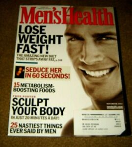 Men's Health Magazine LOOSE WEIGHT FAST November 2002