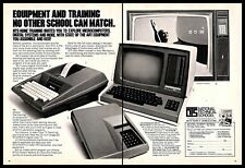 1980 NTS National Technical Schools Vintage PRINT AD Computes Digital Systems