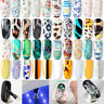 2.5cm*100cm Nail Art Transfer Wrap Foil Sticker Glitter Tip Decal Decoration DIY