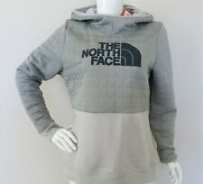 THE NORTH FACE Women's Half Dome Quilted Pullover Hoodie Light Grey sz  L XL