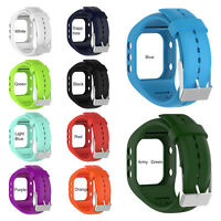 For Polar A300 Watch Replacement Watchband Wrist Band Strap Silicone W/ Buckle H