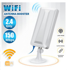 WiFi Extender Long Range Wireless Outdoor Router Repeater WLAN Antenna Booster