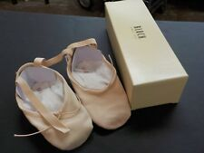 Bloch Pump Canvas Ballet Slippers Pink Flat S0277L Split Sole 2.5C