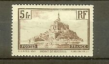 "FRANCE STAMP TIMBRE N° 260a "" MONT SAINT MICHEL 5F TYPE I "" NEUF xx TB"