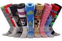 SAMSON® FOOTBALL KNEE HIGH SOCKS NOVELTY FUNNY GIFT PARTY KIDS WOMENS MENS FUNKY