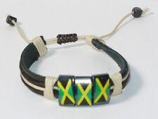 JAMAICA  ADJUSTABLE LEATHER BRACELET