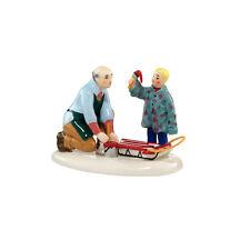 Dept 56 Original Snow Village Grandpa'S Little Helper