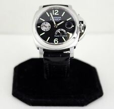 Men's Panerai Luminor Automatic Power Reserve Firenza 1860 Wristwatch SS - 40MM