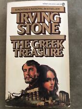 The Greek Treasure,Irving Stone,Signet, Copyright 1975, Paperback