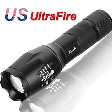 Ultrafire 8000Lumens LED 18650 Flashlight Zoomable Torch Focus Flashlight Lamp