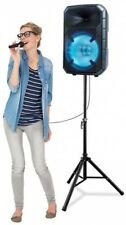 ION Total PA Max Speaker 500-Watts Bi-Amplified LED Wireless Remote Tripod Stand