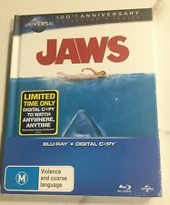JAWS (Universal 100th Anniversary Collector's Series Blu-ray) - Rare Edition