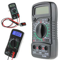 LCD Digital AC/DC Voltmeter Volt Resistance Multimeter OHM Current Tester Meter