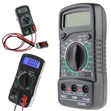 LCD Digital Multimeter w/ Ammeter AC/DC Voltage Tester Current Resistance Tester