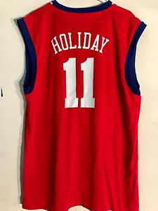 Adidas NBA Jersey Philadelphia 76ers Jrue Holiday Red sz 2X