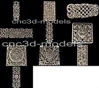 3D STL Models for CNC Router Engraver Carving Artcam Aspire Wood Decor 159