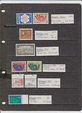 More details for 40 thematic postage stamps on europa all different in mint never hinged