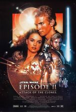 STAR WARS EPISODE 2: ATTACK OF THE CLONES (2002) ORIGINAL MOVIE POSTER  - ROLLED