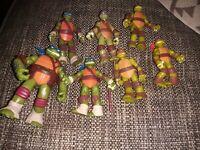 Teenage Mutant Ninja Turtles TMNT Bundle Job Lot Figures