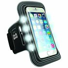 iWerkz Universal Flashing Sports Arband for iPhone 6/6S and Samsung Galaxy S5