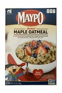 Maypo Oatmeal, Instant Maple, 14 oz. (qty. 2)