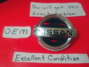 ✅ OEM 2002 2003 NISSAN MAXIMA GRILLE EMBLEM BADGE FACTORY LOGO 62892-5Y700 NICE!