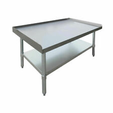 "HUBERT Kitchen Equipment Stand Stainless Steel - 36""L x 24""W x 24""H"