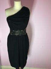 WAREHOUSE - EMBELLISHED ONE SHOULDER DRESS - NEW WITH TAGS - SOLD OUT