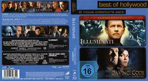 DER DA VINCI CODE & ILLUMINATI - 2 Blurays mit Tom Hanks