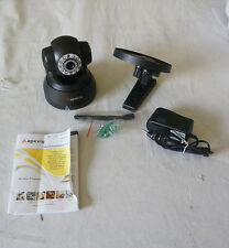 APEXIS BLACK APM-J011-WS WIRELESS IP CAMERA W/ 3.6MM LENS