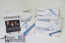 Kenwood KVT Set Up Flip Out GPS Head Unit Set Up KVT-524DVD KCA-BT200 KNA-G421V