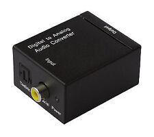 Dynavox Mini-dac II Digital Analog Converter Coax Toslink to Cinch 7305