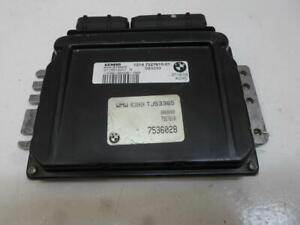 ENGINE COMPUTER MINI COOPER 2002 2003 2004 7527610 1.6L PCM ECM ECU OEM