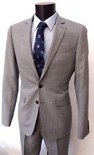 JAEGER GREY Slim-Fit SUIT sz UK 48r rrp £349 BNWT