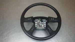 Chevrolet Chevy Trailblazer GMC Envoy Black Leather Steering Wheel  02-09