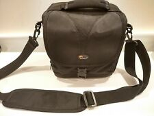 Lowepro Camera Case Travel Shoulder Bag 9x9x5 - Rezo 170 AW - Black w/ Strap