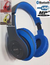 CUFFIE STEREO BLUETOOTH MP3 K3556 M-TK 3.0 PER SAMSUNG APPLE ANDROID  RADIO FM