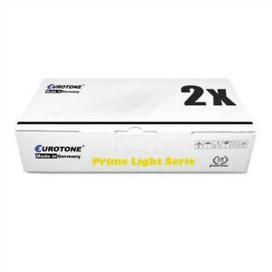 2x Eurotone Prime Toner / Chip For Kyocera KM-2540 KM-2560 KM-3060 KM-3040