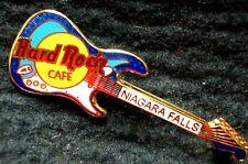 HRC Hard Rock Cafe Niagara Falls Blue Two Tone Stratocaster Guitar