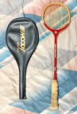 Vint Goudie ~ Wood Squash International Theta Mohibullah Khan Racquet w/ Cover