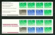 Nederland boekjes 33 a + b postfris