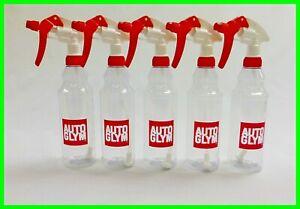 Autoglym 5 x Calibrated Trigger Spray Bottle 500ml Valeting Free P & P