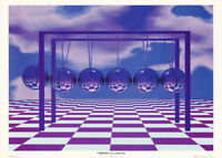 POSTER: OPTICAL ILLUSION : CYBERTOY - 3-D ILLUSION  - FREE SHIP -#VR0005  RC21 C