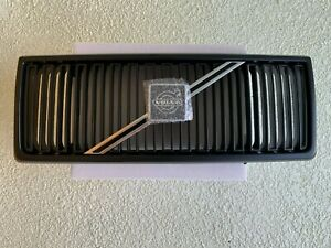 NOS Volvo 240 Grille ALL BLACK Version 86-93 OEM RARE Turbo 242 244 245 GL GLT