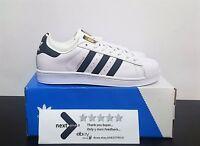 Adidas Superstar 2 Classic C77124 Gold Bianco Nero Oro Scarpe Shoes Uomo Donna
